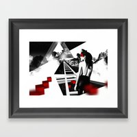 Mindblow Framed Art Print