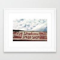 Shalome Spaza Framed Art Print