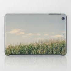 Campos de maíz iPad Case