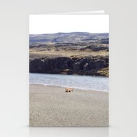 In the middle of nowhere, Iceland Stationery Cards