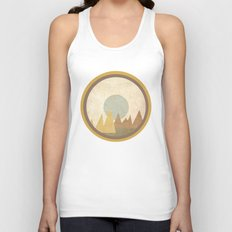 Moon & Mountains Unisex Tank Top