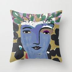 Goddess 2 Throw Pillow