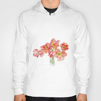 Parrot Tulips in a Glass Vase Hoody