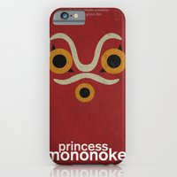 iPhone & iPod Case featuring Princess Mononoke  by Fabio Castro