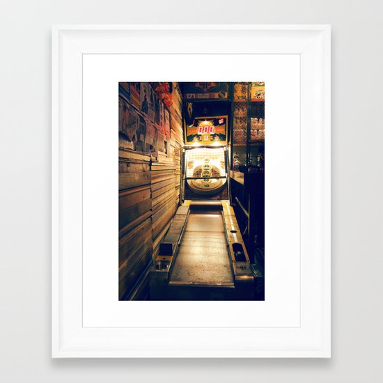 Meanwhile, Somewhere In Brooklyn... Framed Art Print