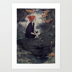 The Hunt - Forest 2 Art Print