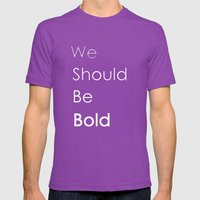 Bold Mens Fitted Tee Ultraviolet SMALL