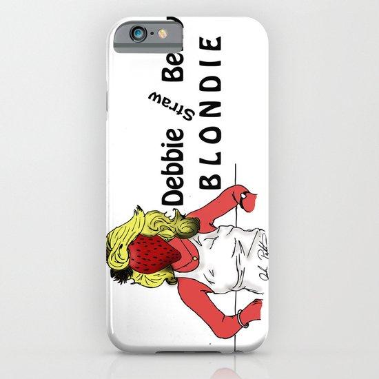 Debbie Straw-Berry   Blondie iPhone & iPod Case