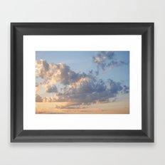 Florida Clouds Framed Art Print
