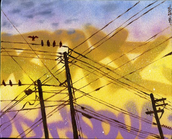 High Wire Act Art Print