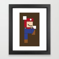 Let's Go Minimal! Framed Art Print
