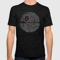 Fish Star Mens Fitted Tee Tri-Black SMALL
