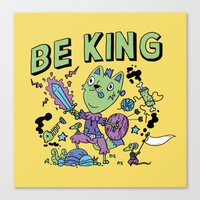 Be King Canvas Print