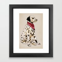 Good Boy Framed Art Print