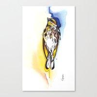Deadbird. Canvas Print