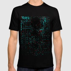 Weightless_1 Mens Fitted Tee Black SMALL