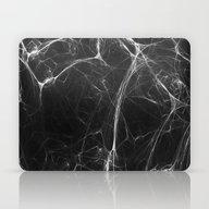 Absolute Black Marble Ed… Laptop & iPad Skin