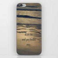 Golden Tide iPhone & iPod Skin