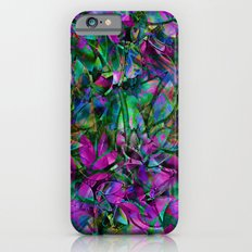 Floral Abstract Stained Glass G276 iPhone 6s Slim Case