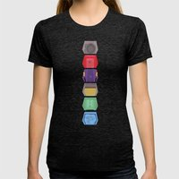 MST3K Doors  Womens Fitted Tee Tri-Black SMALL
