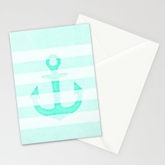 Vintage Anchor Mint Stationery Cards