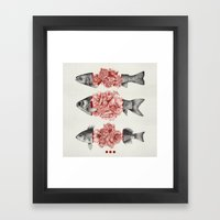 To Bloom Not Bleed (Limited Time Only) Framed Art Print