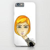 Green-Eyed Girl iPhone 6 Slim Case