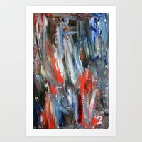 Untitled Abstract #6 Art Print