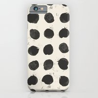 iPhone & iPod Case featuring Two / Cream by Eva Black