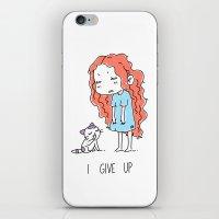 I Give Up iPhone & iPod Skin