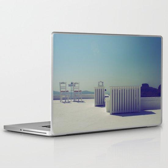 Turquoise Gazing  Laptop & iPad Skin