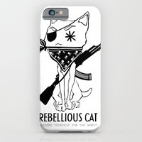 Rebellious Cat iPhone 6 Slim Case