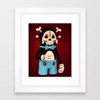 Bad Petryck Framed Art Print