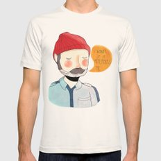 I Wonder If It Remembers Me Mens Fitted Tee Natural SMALL