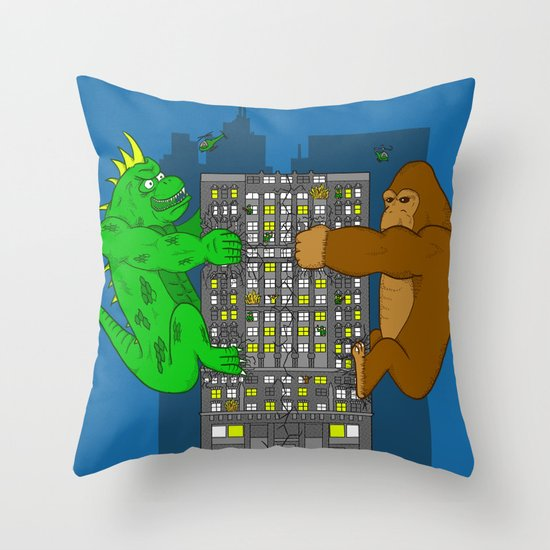 RAMPAGE Throw Pillow