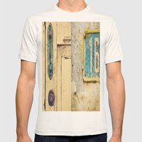 The Door Mens Fitted Tee Natural SMALL