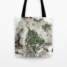 Dragon of The Mist Tote Bag