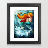 I Remember Love Framed Art Print