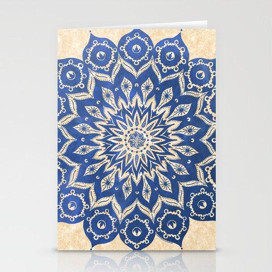 ókshirahm sky mandala Stationery Card
