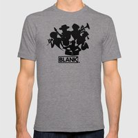 BLANKM GEAR - JAZZBAND Mens Fitted Tee Tri-Grey SMALL