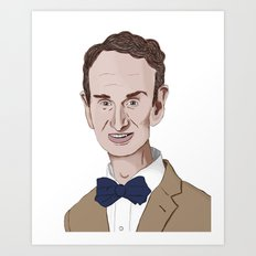 The Science Guy Art Print