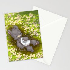 Flowery Death Stationery Cards