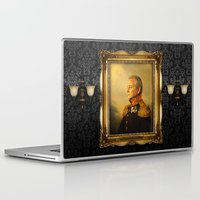 portrait Laptop & iPad Skins featuring Bill Murray - replaceface by replaceface