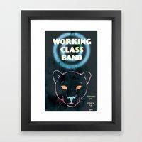 Working Class Panther, G… Framed Art Print