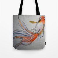 Goldfish Pond (close up #10) Tote Bag