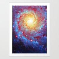 Spiral Galaxy Art Print