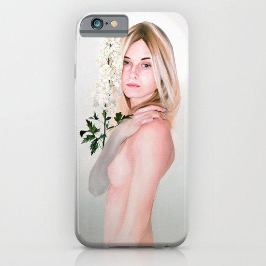 Delphinium iPhone & iPod Case