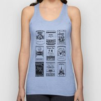 chinese teabox collection Unisex Tank Top