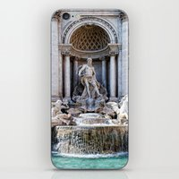 Trevi Fountain iPhone & iPod Skin