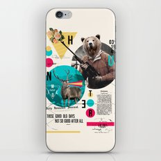 THE HUNTER iPhone & iPod Skin